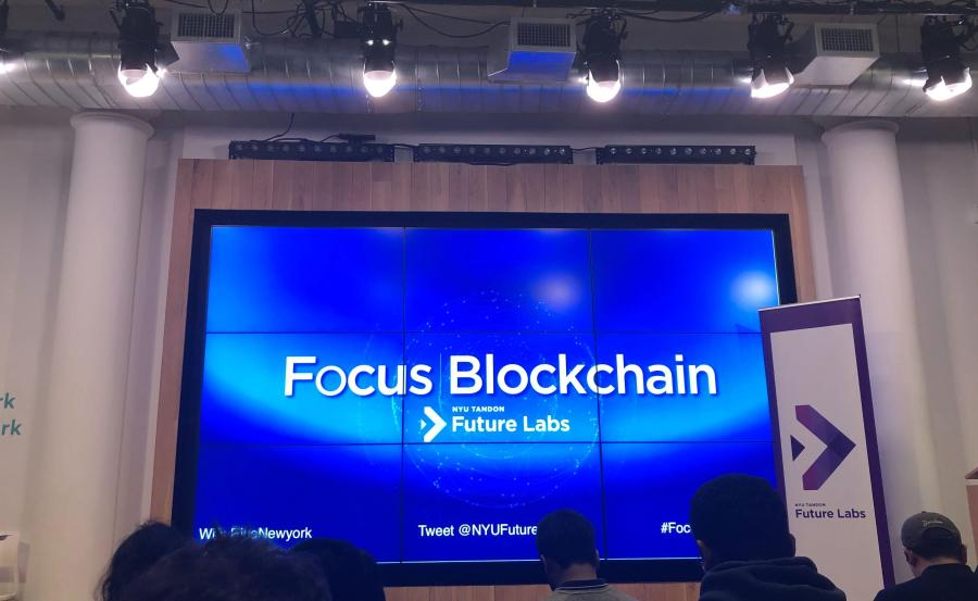 With the initial hype around cryptocurrency having died down, the future of blockchain is in question. (Photo by Mansee Khurana)