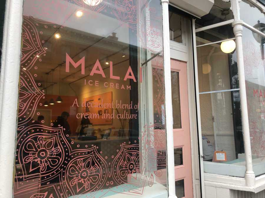 A+newly+opened+location+of+Malai+Ice+Cream%2C+where+a+Stern+alumna+has+launched+her+global+fusion+ice+cream+brand.+%28Photo+by+Bella+Mae+Gil%29