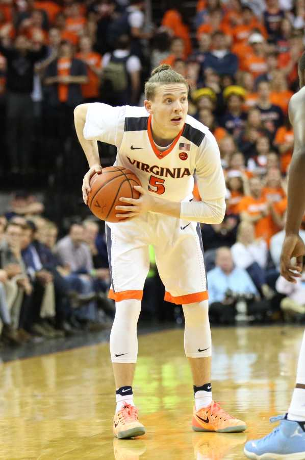 Star guard Kyle Guy, above, hopes to help lead the University of Virginia Cavaliers to its first-ever national title. (via Wikimedia Commons)