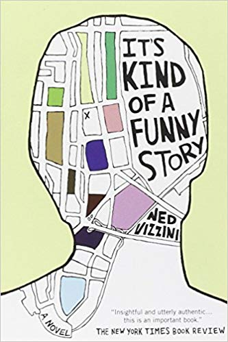 Book cover of It's Kind of a Funny Story. (via Hyperion)