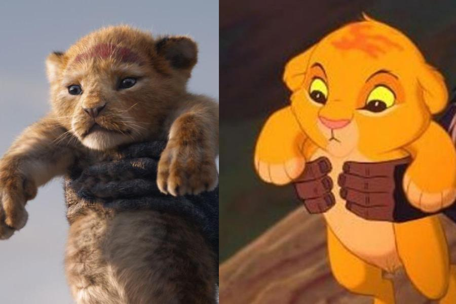 Disney's 3D remake of the 1994 Lion King animated movie. (via Disney)