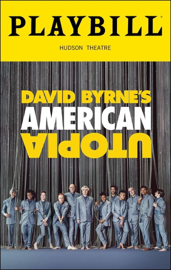 A theatrical rendition of Byrne's world tour of the same name, the performance features Byrne and 11 other artists from a host of countries. (Via Playbill)