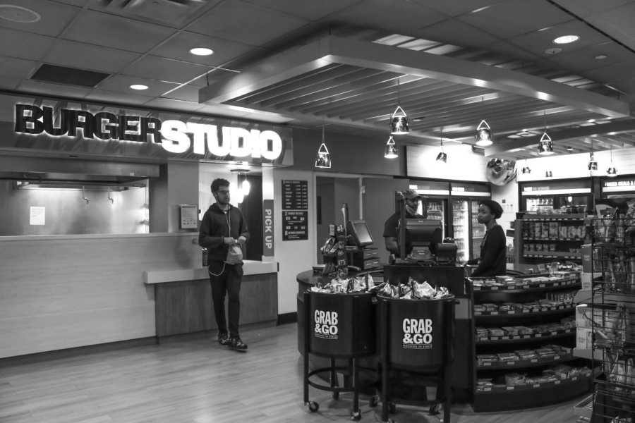 Burger Studio before the tragedy of its closing. (Photo by Viola Mai)