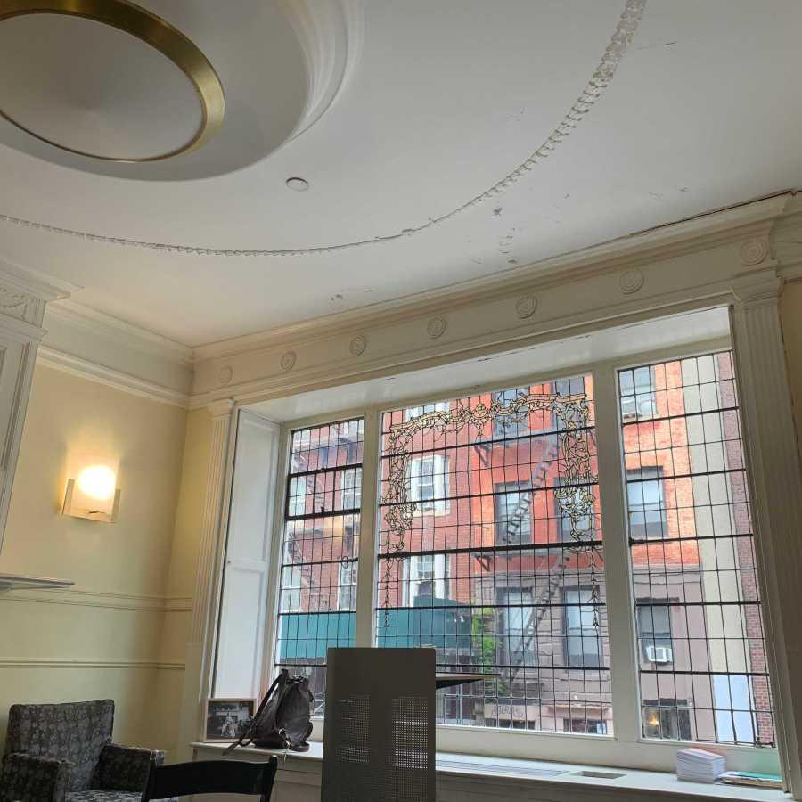 NYU's creative writing house. (Staff Photo by Julie Goldberg)