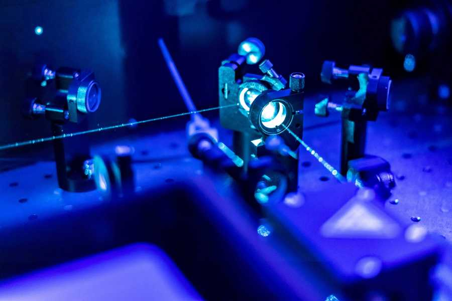 A group of researchers led by assistant professor of physics Javad Shavani discovered a new state of matter that could lead to breakthroughs in quantum computing. (via Adobe Stock)
