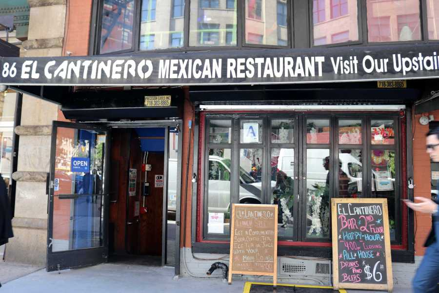 El Cantinero is a Mexican restaurant located along University Pl between 11th and 12th Street. (Photo by Talia Barton)