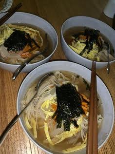 Three bowls of homemade