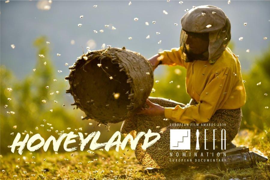 Honeyland, a documentary directed by Tamara Kotevska and Ljubomir Stefanov, talks about a story of the last female wild beekeeper  Hatidze Muratova. (via Facebook)