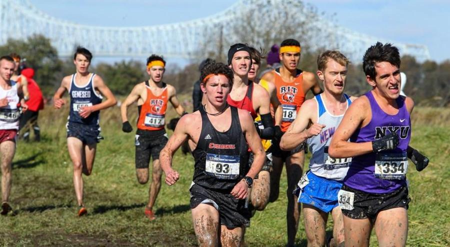 Dillan Spector, CAS junior, is one of the three runners from NYU. They competed at the NCAA Division III Cross Country Championships on Saturday, November 23. (Via NYU Atheletics)