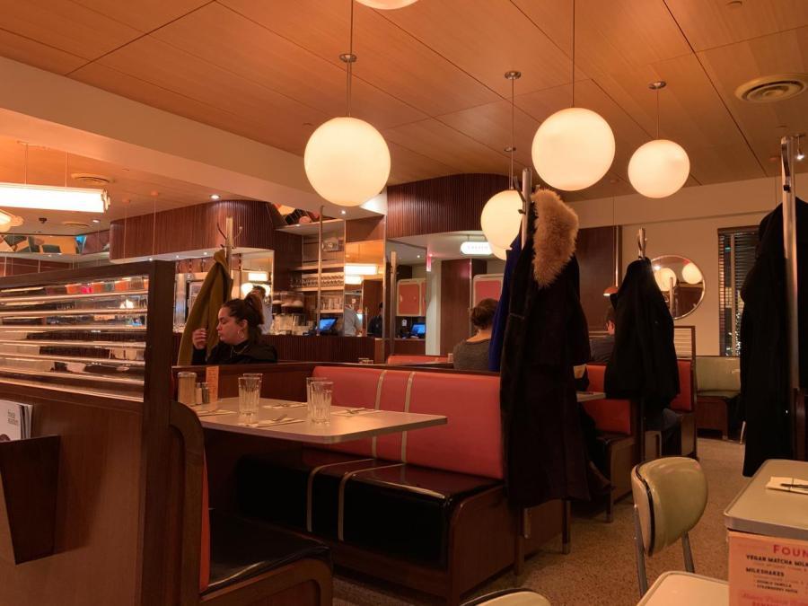 The Soho Diner tucked away in Lower Manhattan. (Photo by Divya Nelakonda)