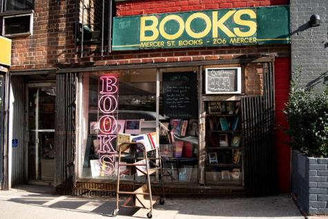Now in their 30th year, Mercer St. Books & Records carries new and used books, as well as LPs. Local bookstores like this one are small businesses that are often overlooked in the city. (Staff Photo by Jake Capriotti)