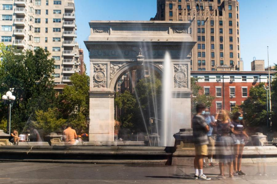 For years, Washington Square Park has acted as a hub for social gatherings. In light of social distancing precautions, the midnight