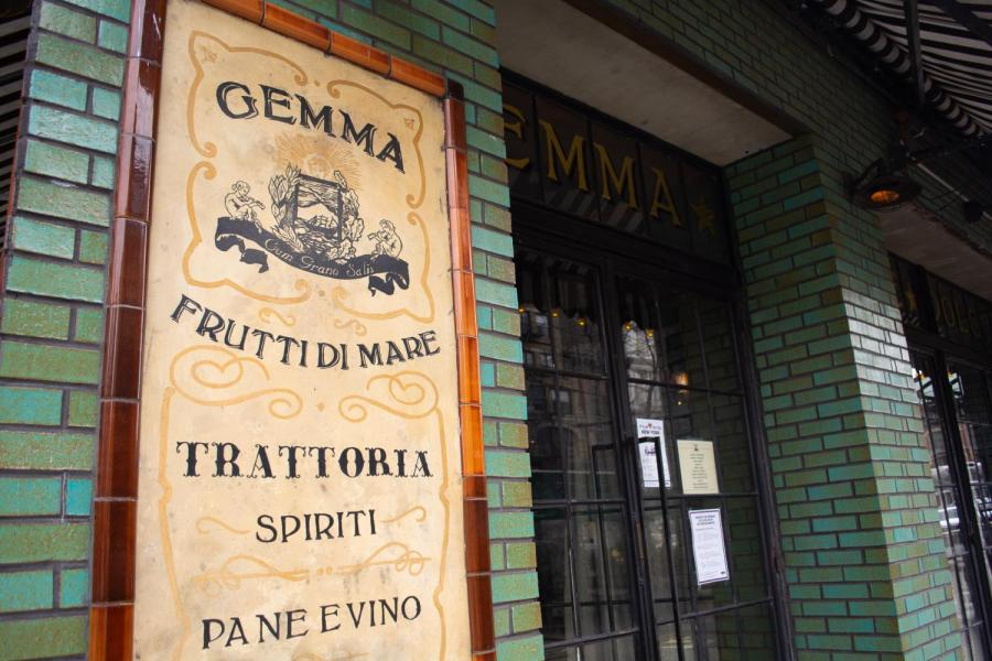 At the corner of East Third and Bowery, Gemma is located on the ground floor of The Bowery Hotel. Gemma is a little slice of Italy in Noho and definitely recommended to try. (Staff Photo by Manasa Gudavalli)