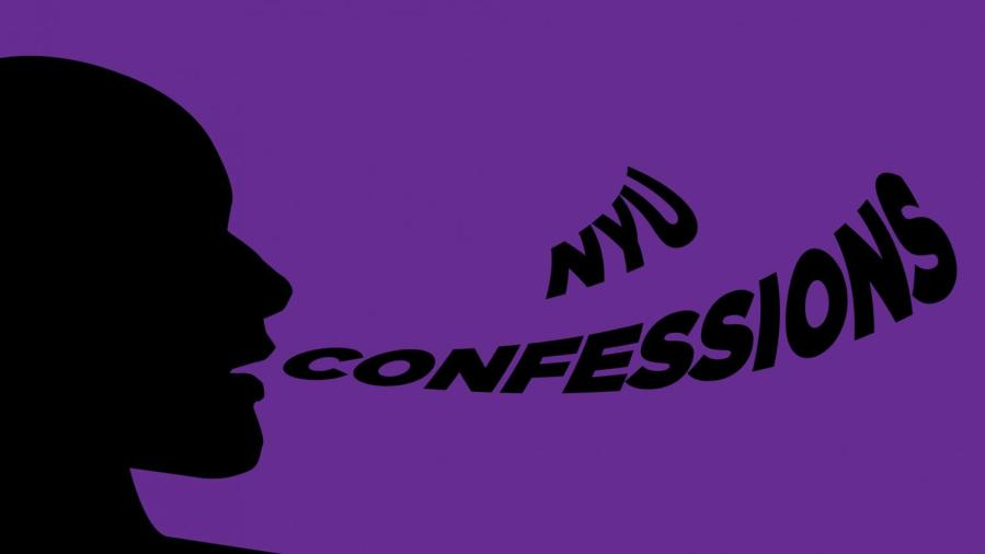 A first-year NYU student created an anonymous Instagram confessions page, @nyuquarantineconf, during the Fall 2020 semester quarantine. This confessions page has allowed NYU's Class of 2024 to find a sense of community in an unlikely time. (Staff Illustration by Susan Behrends Valenzuela)