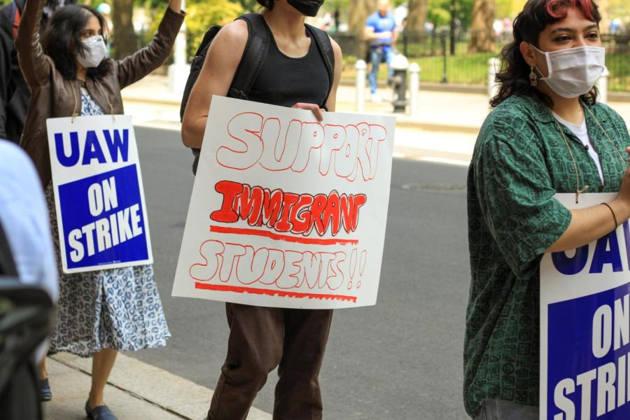 One of GSOCs demands include protection for immigrant students.