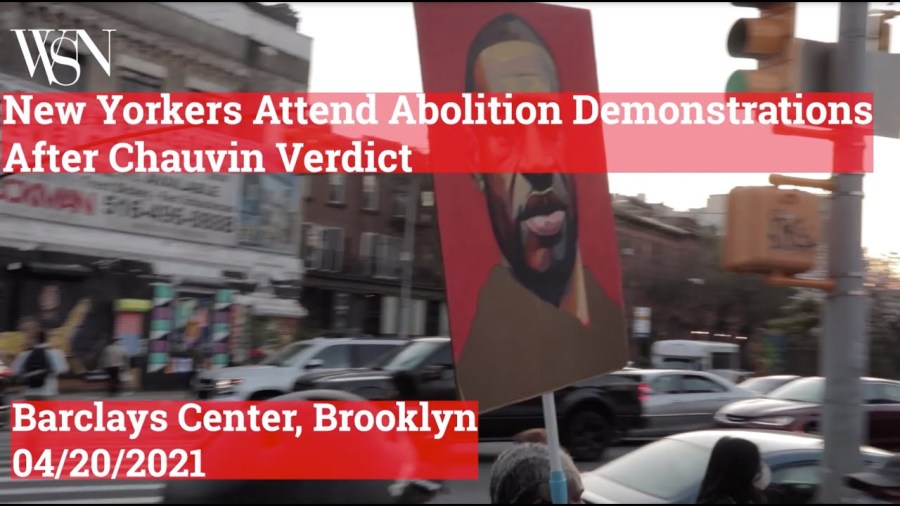 New Yorkers reiterate demands to abolish the police after Chauvin verdict