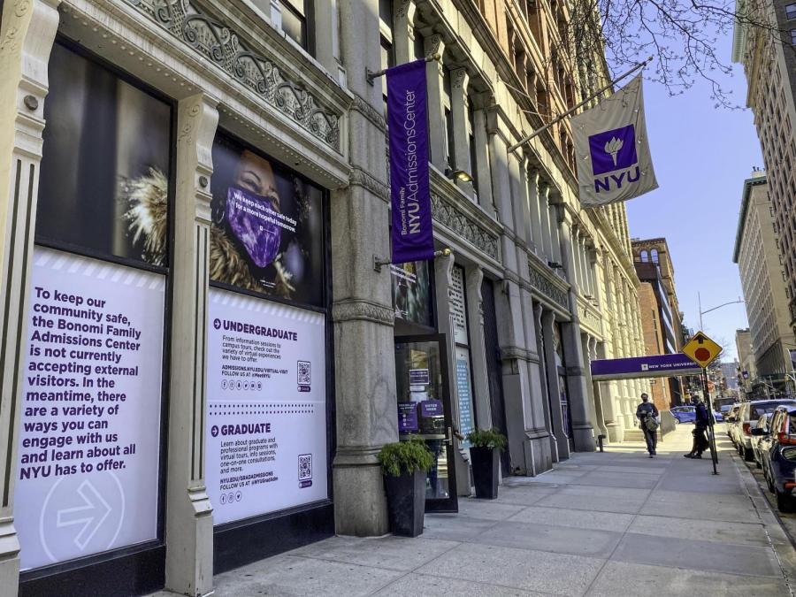 "NYU's admissions statistics show that New York University is no exception when it comes to an elite university admitting disproportionately wealthy students each year, despite boasting itself on its record-setting levels of diversity. Netflix's documentary about the 2019 college admissions scandal, ""Operation Varsity Blues: The College Admissions Scandal,"" portrays the scandal as a one-off incident in an otherwise just system rather than a symptom of a national issue. (Staff Photo by Ryan Walker)"