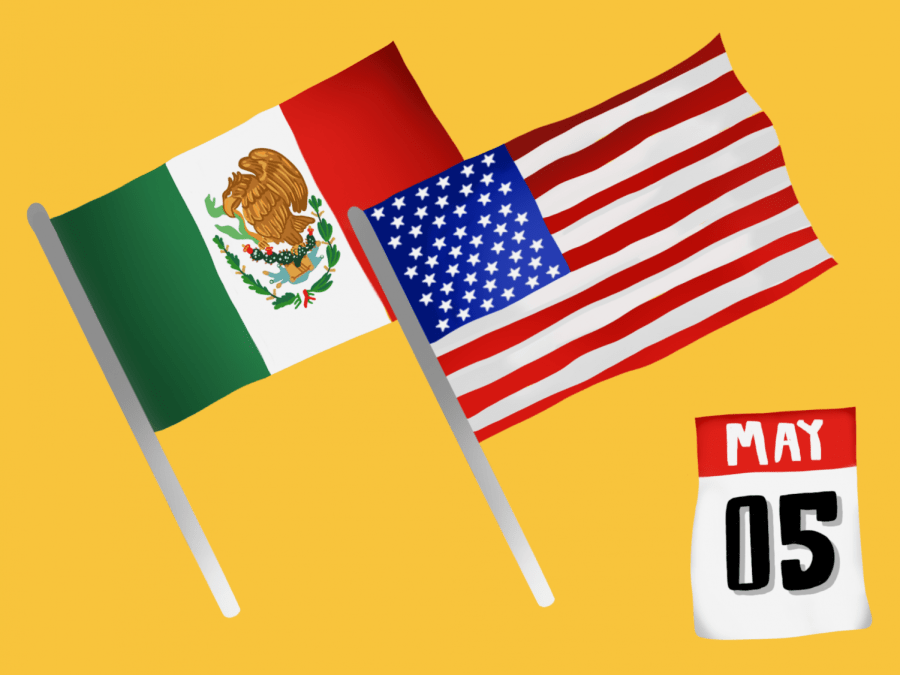 What does Cinco de Mayo mean for Mexican-Americans? Is it still meaningful despite its commercialization by White America? Let's get real about Cinco de Mayo. (Staff Illustration by Susan Behrends Valenzuela)