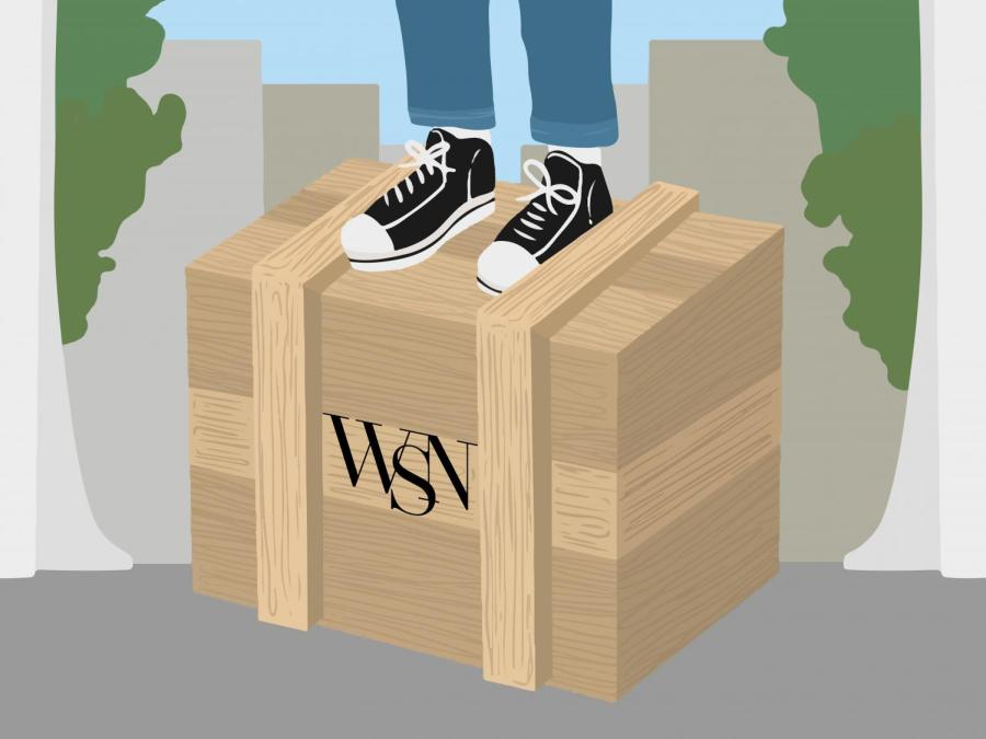 The Soapbox is a weekly news column rounding up stories worth reading for a global university. (Staff Illustration by Susan Behrends Valenzuela)