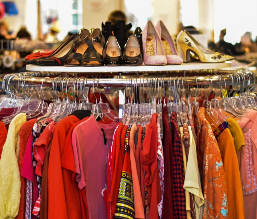 Shopping at thrift stores, such as Beacon's Closet, is a good way to practice sustainability. It is important to make conscious shopping choices in order to contribute to collective change in the fashion industry. (Photo by Camila Ceballos)