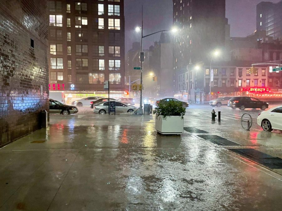 On Sept. 1, Hurricane Ida brought unprecedented amounts of rain to New York City and caused alarming floods. The damage has prompted more scrutiny on the citys future environmental agenda. (Staff Photo by Shaina Ahmed)