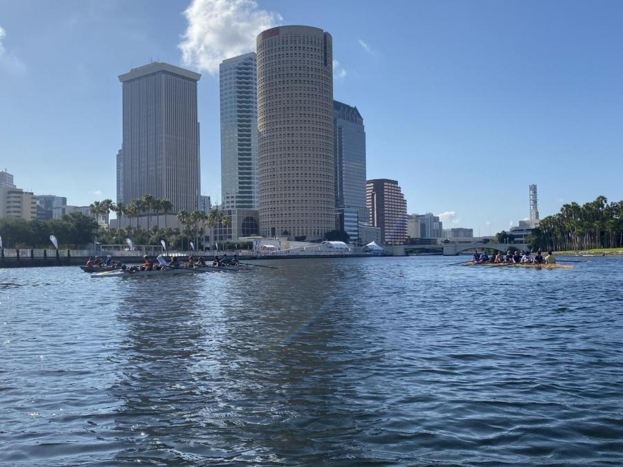 The view of downtown Tampa from the Hillsborough River. NYU Law's Civil Rights Clinic and other civil rights organizations are calling for the city of Tampa to end the Crime Free Multi-Housing Program, which they say disproportionately harms people of color. (Photo by Ari Solomon)