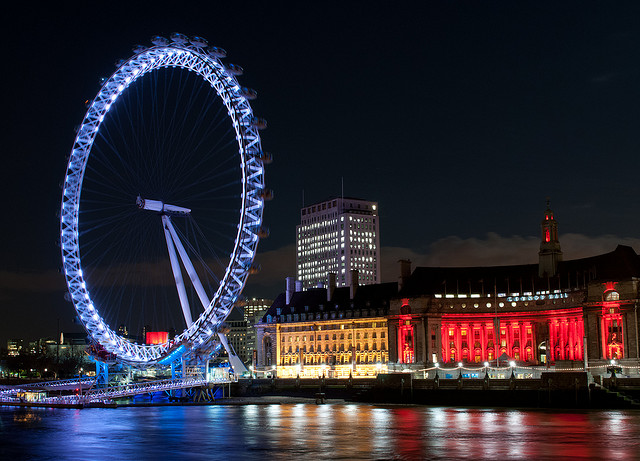 The London Eye. (Courtesy of ajagendorf25 via Flickr)