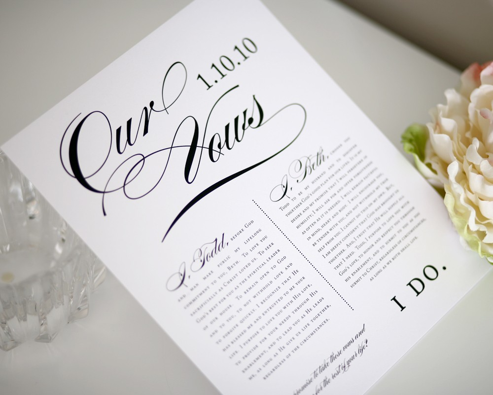 To Have and To Hold Writing Your Wedding Vows  NYC