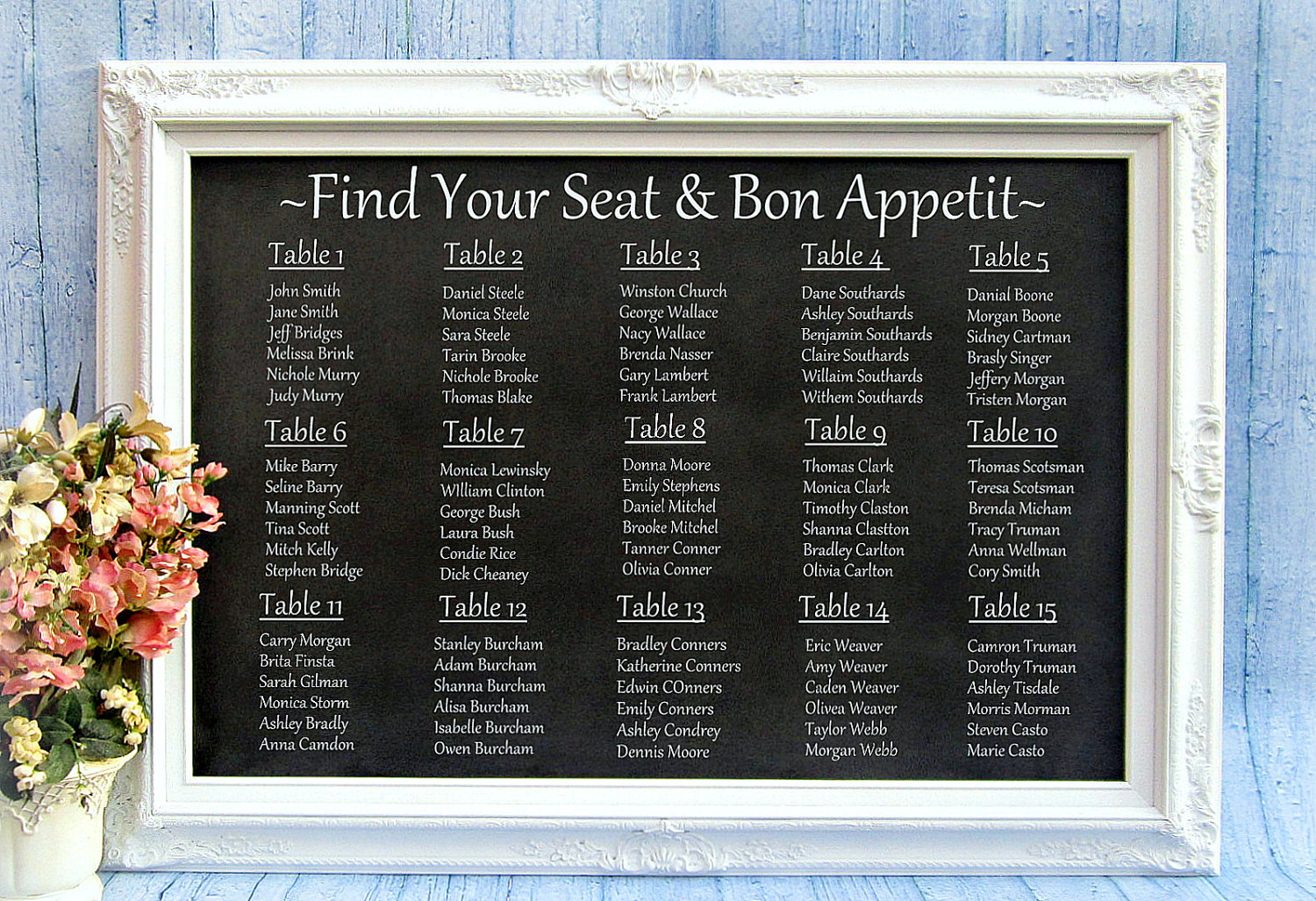 Building Your Wedding Seating Chart: The Do's And The Don