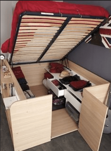 RV bed