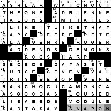 0925-10 New York Times Crossword Answers 25 Sep 10