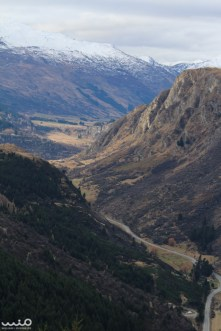 Looking down the Gorge from Queenstown