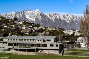 Back in Queenstown just in time for school to get out and to get sunshiny views of the Remakables backdropping the city.