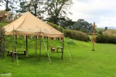 The party field, made famous for Bilbo's Eleventy-First Birthday Party in the first film of LOTR