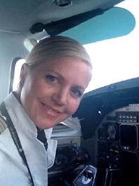 Lisa Berry, New Zealand Association of Women in Aviation