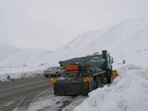 冬のニュージーランドの道路2