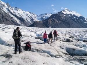 マウントクックタスマン氷河ヘリハイク