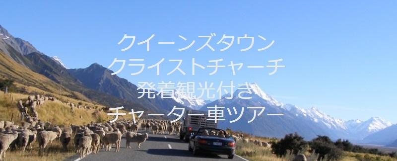 NZブリーズ観光つきチャーター車ツアー