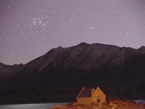 6月26日テカポ良き羊飼いの教会とマタリキ