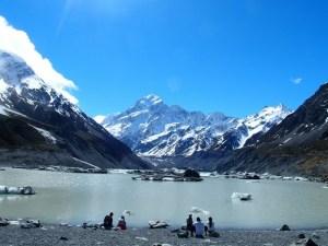 17年9月27日マウントクックフッカーバレーフッカー氷河湖