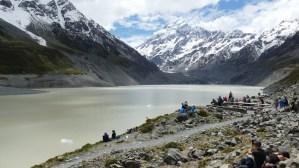 フッカー氷河湖11月23日