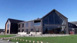 新テカポ湖ユースホステルレイクビューダイニングルーム