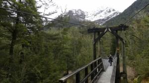 ルートバーントラック第2の吊り橋