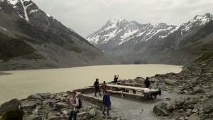 マウントクックフッカーバレートラック20年1月1日フッカー氷河湖