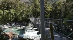 3月5日ルートバーンに架かる吊り橋