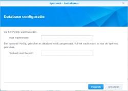 spotweb-synology-wachtwoord