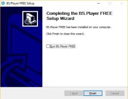 bs player install klaar