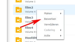 volume editing synology