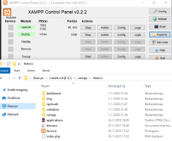 spotweb map xamp