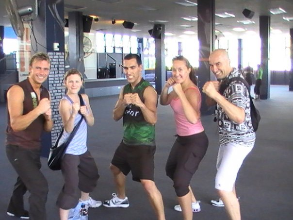 2008 Q4 workshop; In this pic, Me, Erina, Hernan, Anise and James